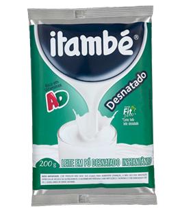 leite itambe desnatado